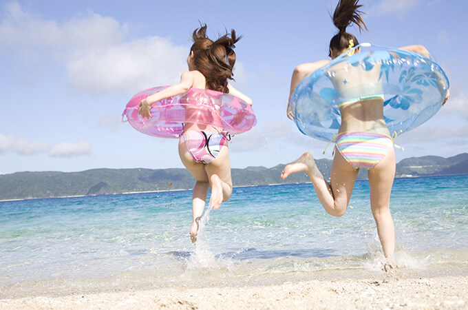 宮古島 海遊び